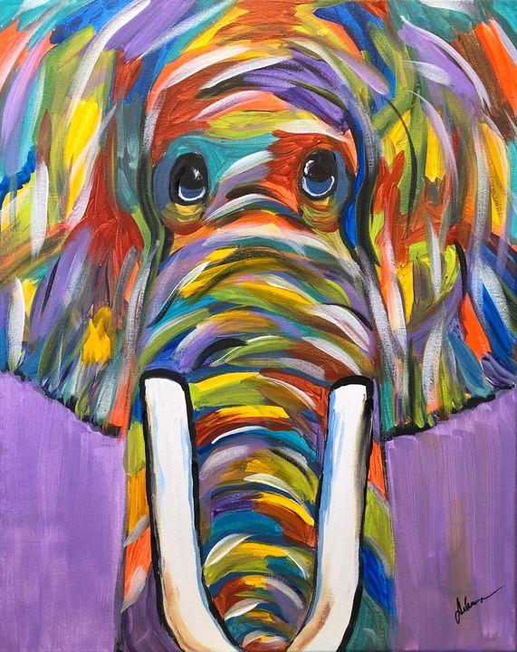 Ellie the Elephant - Paint the Sky