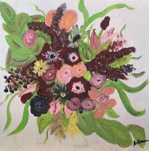 Bridal Bouquet - Paint the Sky