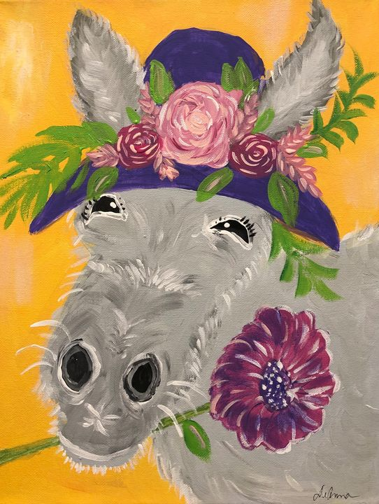 Dixie the Donkey - Paint the Sky