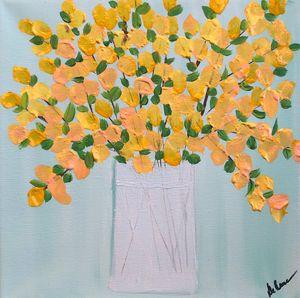 Yellow Forsythias