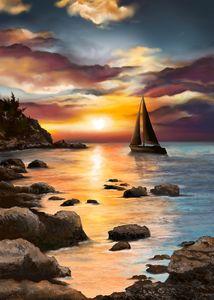 Sail away with me. - Samantha Biddle