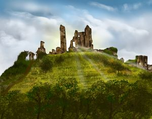 What mysteries Corfe Castle holds?