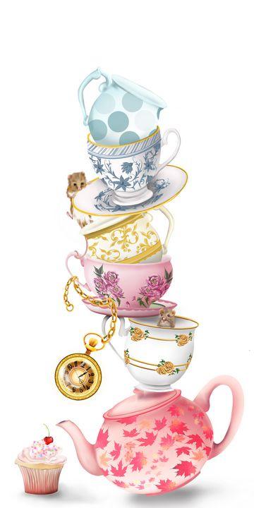 Time for Tea - Samantha Biddle