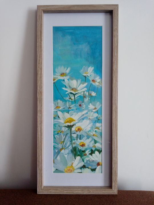 Summer daisies - Carmen's paintings