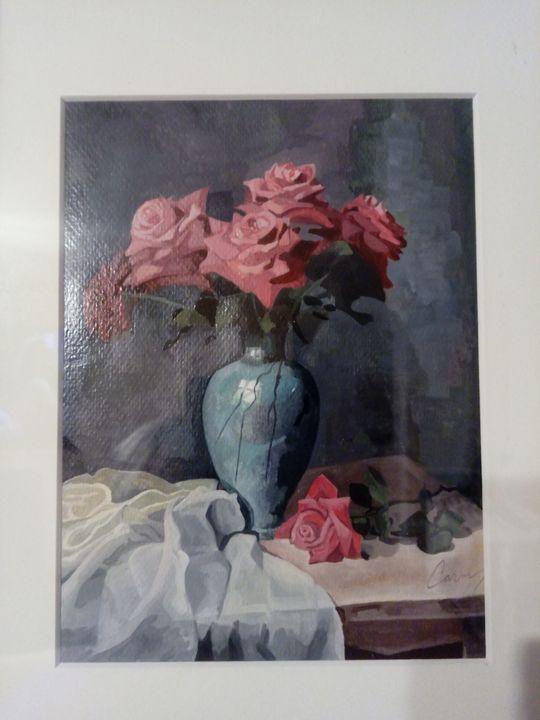 Roses from my garden - Carmen's paintings