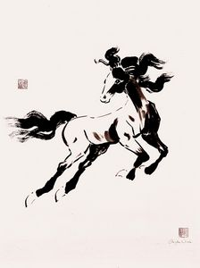 Leaping Horse