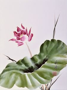 Leaning Lotus