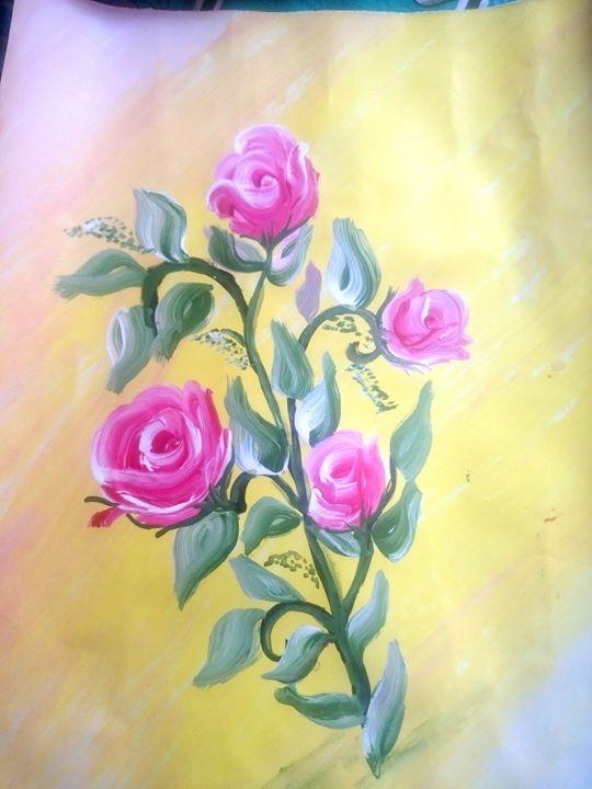 Acrylic painting - Remya