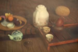 Pu Er Tea ceremony