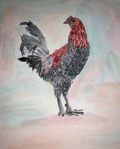Cheeky Chicken - Threshing Floor Arts and Crafts