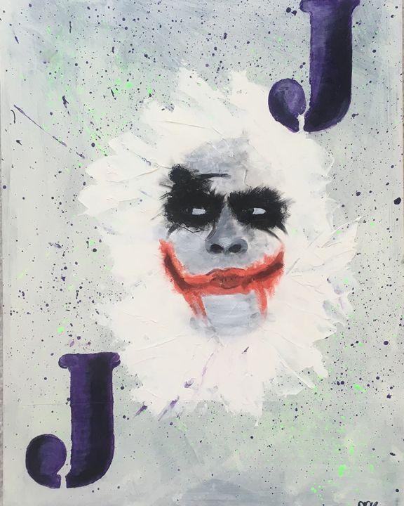 Joker - Schizo-Art