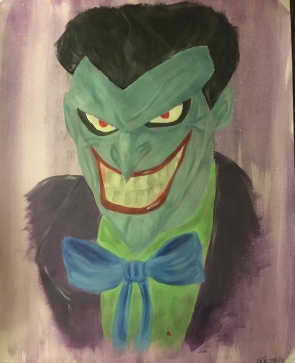 Cartoon joker - Schizo-Art