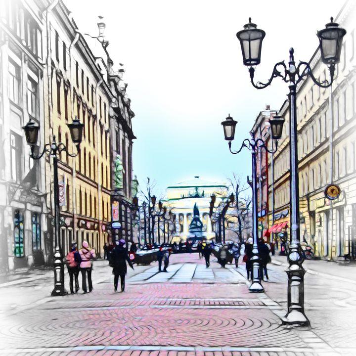 Walking zone - Yury Yanin