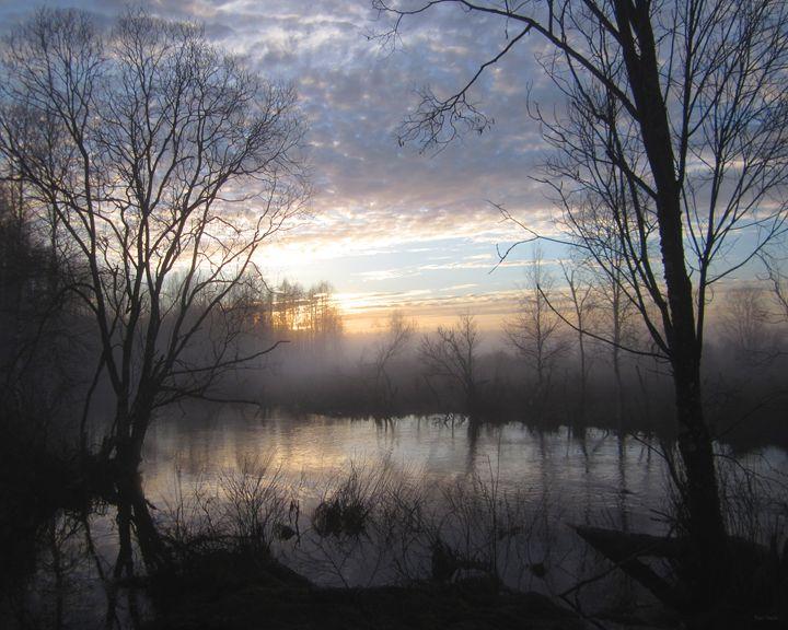 Misty Evening - Yury Yanin