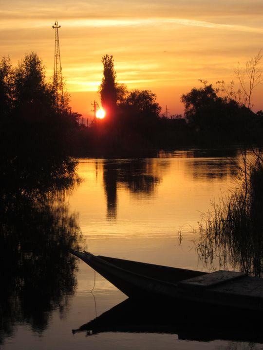Calm evening - Yury Yanin
