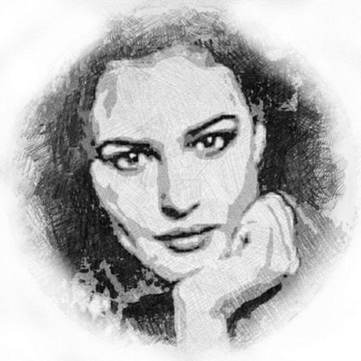 Digital sketch - Yury Yanin