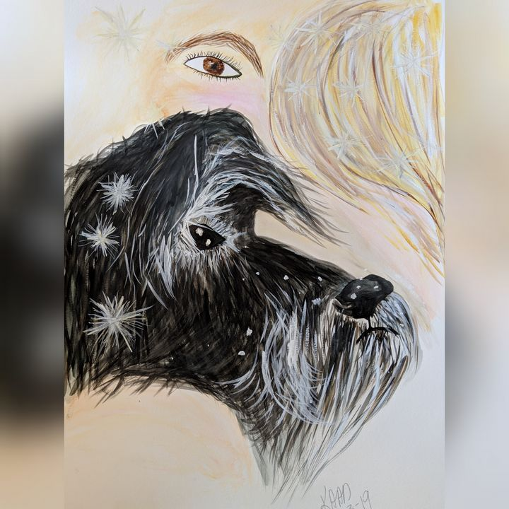Self portrait with Bethany - RayTen Creative Designs