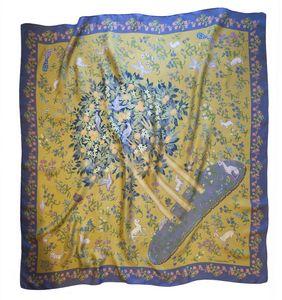 Garden of Eden scarf beige and gold