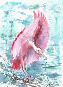 Pink wings 1