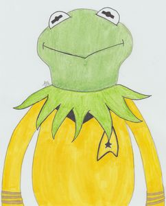 Captain Kirk the Frog