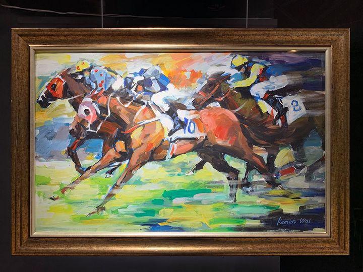 Horse Racing - CAFA City Design Creative Center