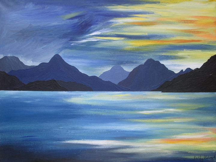 On the waters of Loch Nevis - Murals of the Land