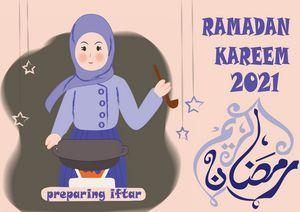 Illustration on Ramadan Kareem