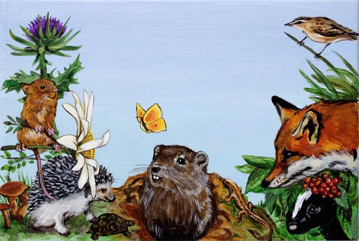 The Gopher and the Fox - Anne Traynor