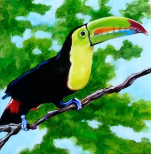 Treetop Toucan - Anne Traynor