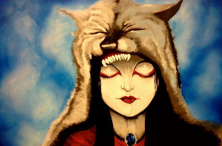 Wolf Woman - Feme by Damien Drake