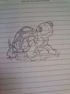 Hand Drawing Tortoise