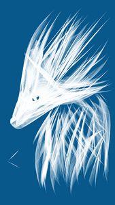 Wolf of straw