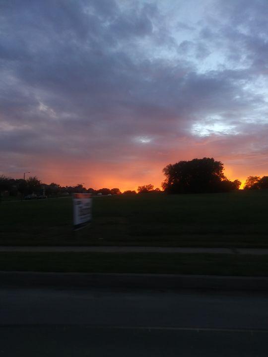 Late sunset - Hallmarks