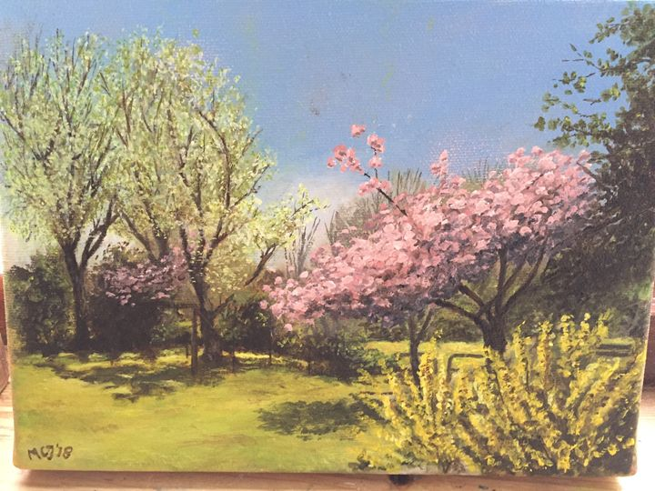 Holland trees - Dutch paintings