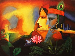 Love till eternity - Radha Krishna