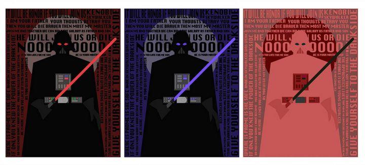 The Words Of Vader - Nicholas Marano Artwork