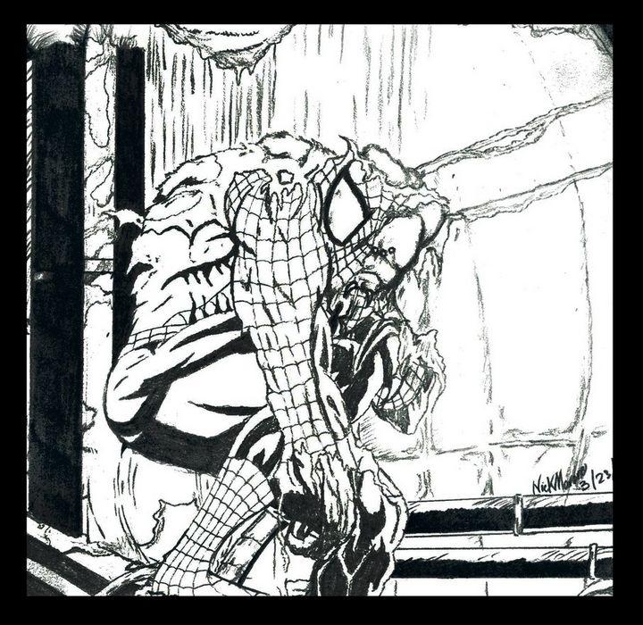 The Man Spider - Nicholas Marano Artwork