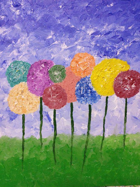 Flowers or Balloons? - DeetsLongArt