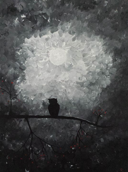 Dark Owl - DeetsLongArt