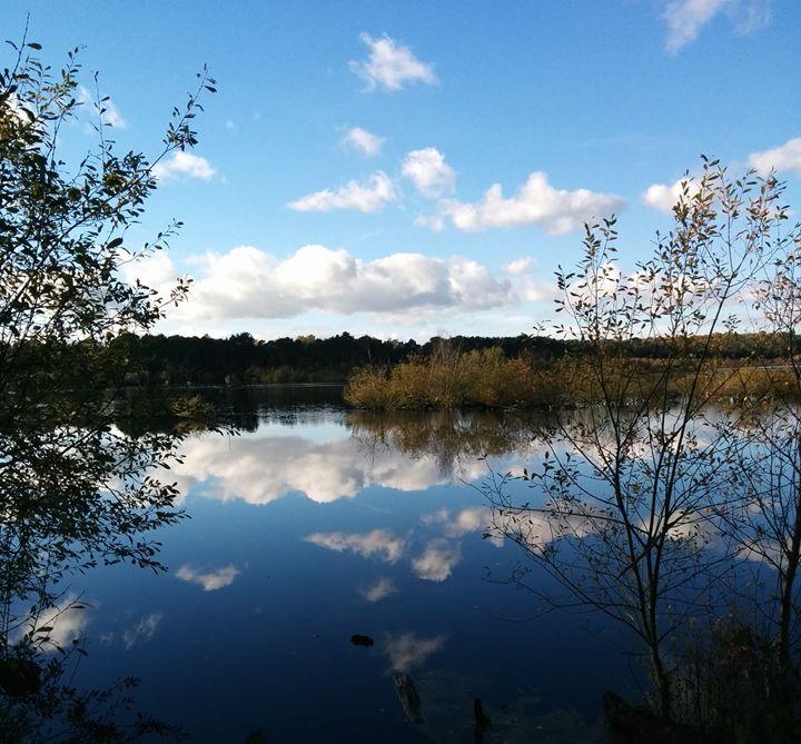 Mirrored Clouds - DeetsLongArt