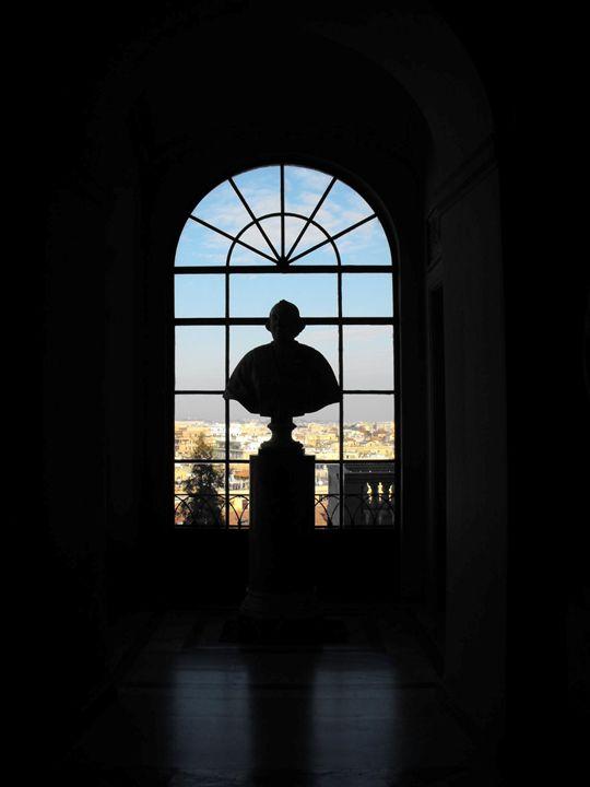 Vatican Statue - DeetsLongArt