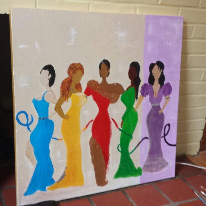 Ladies Night - Art by Jan