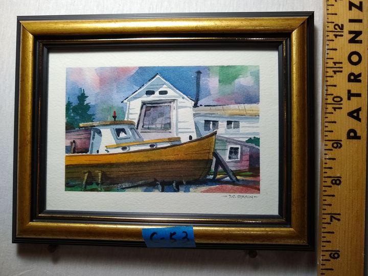 Boat House - Tim Strain