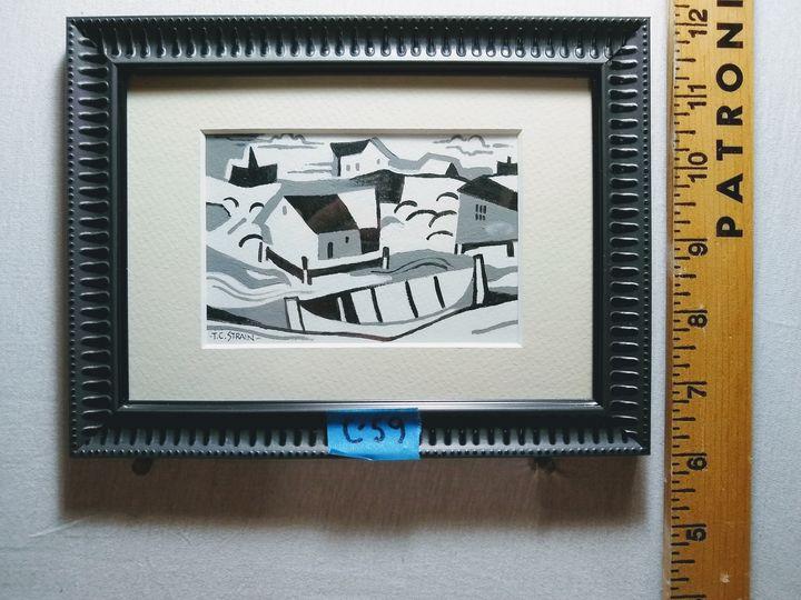 Boat landing - Tim Strain