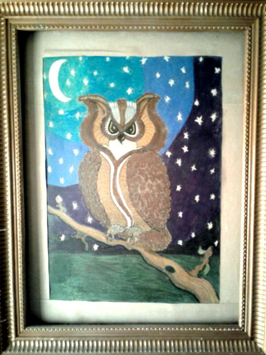 Wise owl - ARTofficial