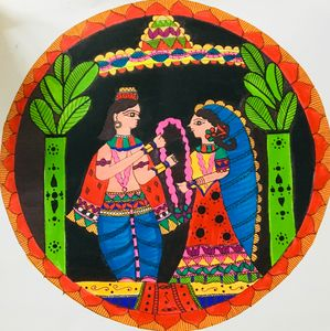 Varmala- Indian (Mithila) marriage