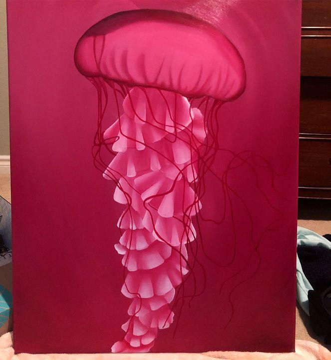 Pink Jellyfish - Nicole Gillard