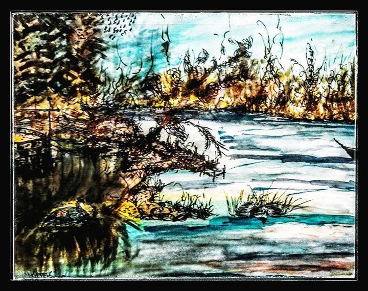 Silence (Abrar) - Abrar's Painting