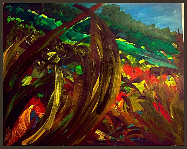 No Caption (Abrar) - Abrar's Painting