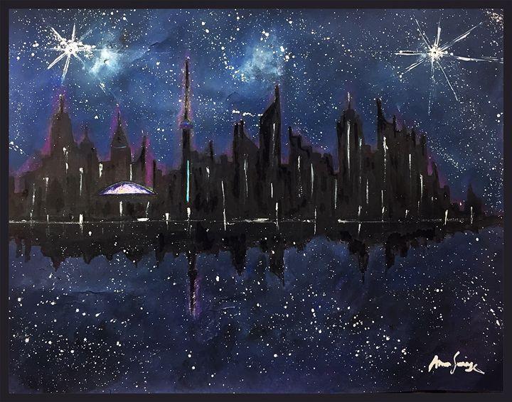 !!!...Toronto SkyLine...!!! (Abrar) - Abrar's Painting